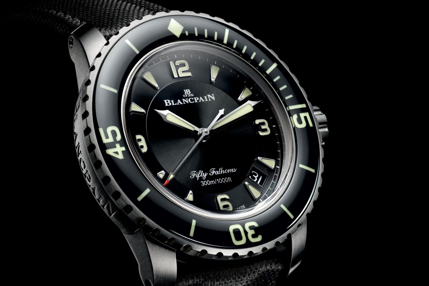 Fifty Fathoms Automatic 5015 Titanium