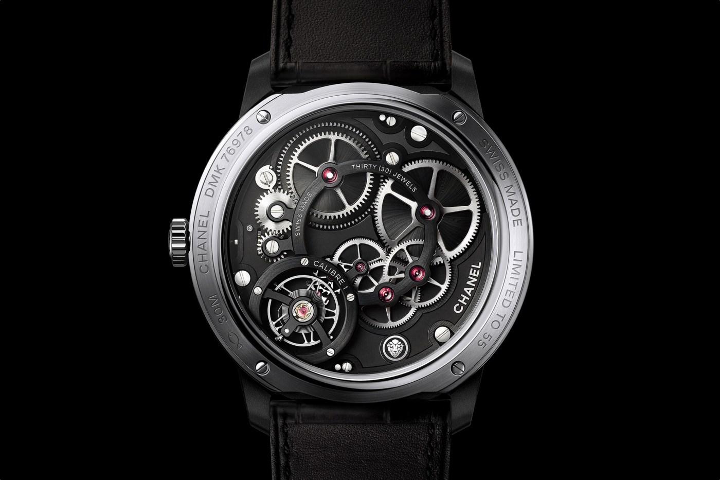Chanel Monsieur Edition Noire caliber 1