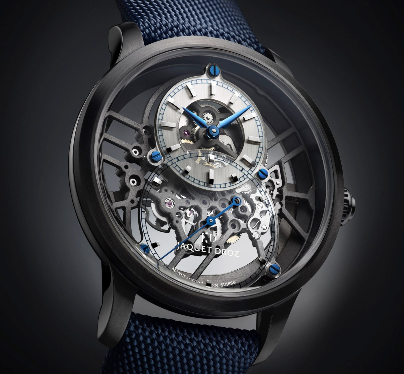 Jaquet Droz Grande Seconde Skelet One Ceramic
