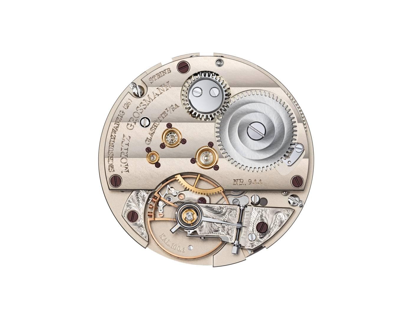 Moritz Grossmann Atum GMT caliber 100.8