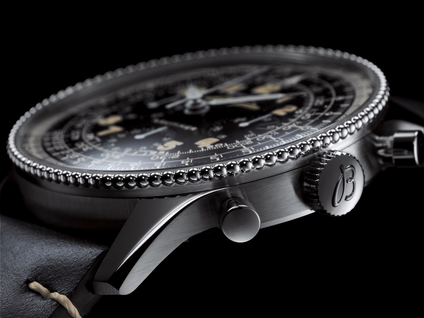 Navitimer Ref. 806 1959 Re-Edition crown shot