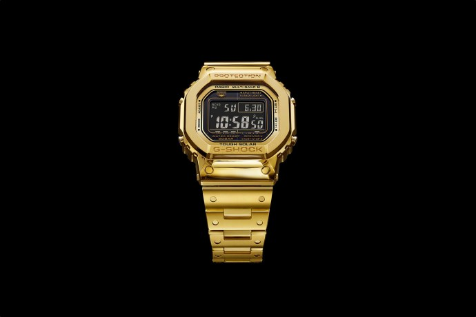 G-Shock Pure Gold 18K Full Metal 5000