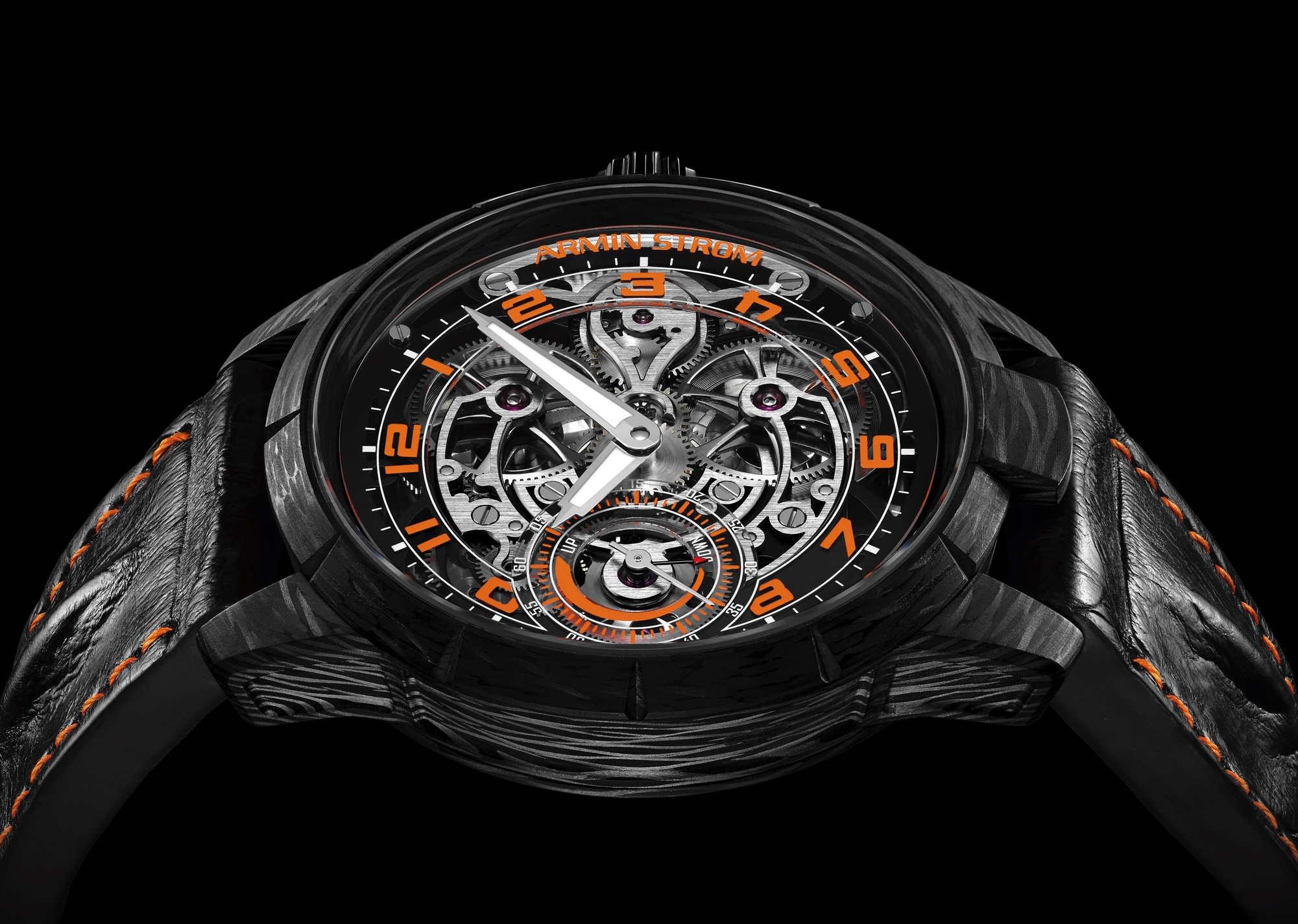 Armin Strom x Cases & Dials Carbon Skeleton cover