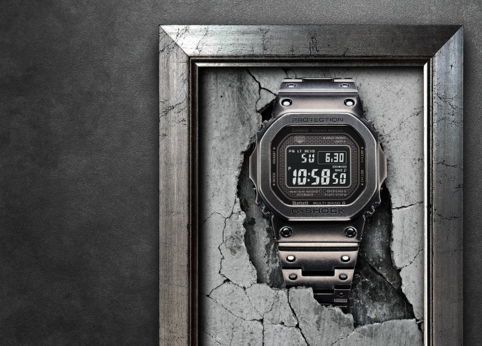 Black Aged IP Full Metal G-Shock
