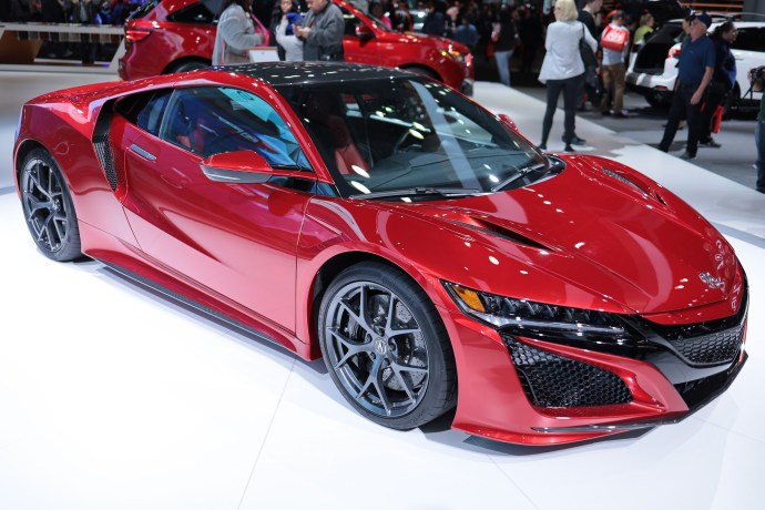 2019 Acura NSX at New York Auto Show