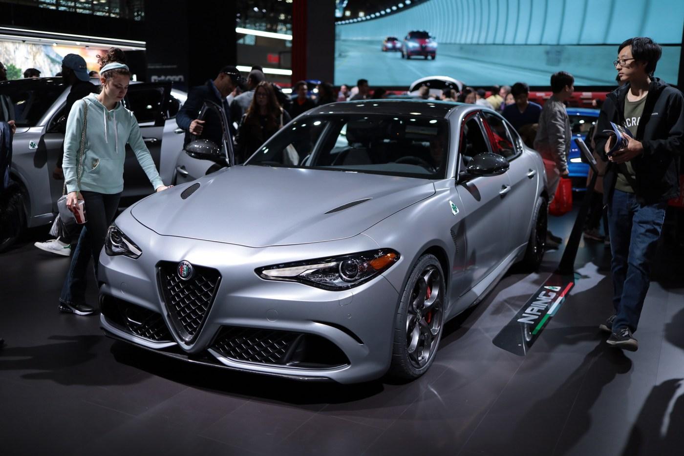 2019 Alfa Romeo Giulia with Quadrifoglio matte paint