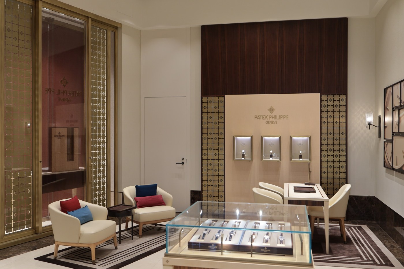 Dedicated Patek Philippe boutique-within-Watches of Switzerland Hudson Yards 2019