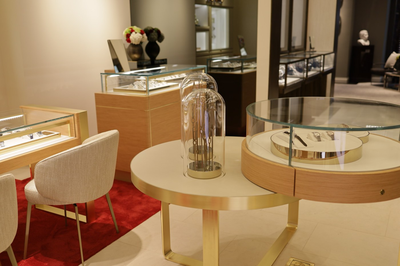 Inside Watches of Switzerland-boutique Encore Boston Harbor