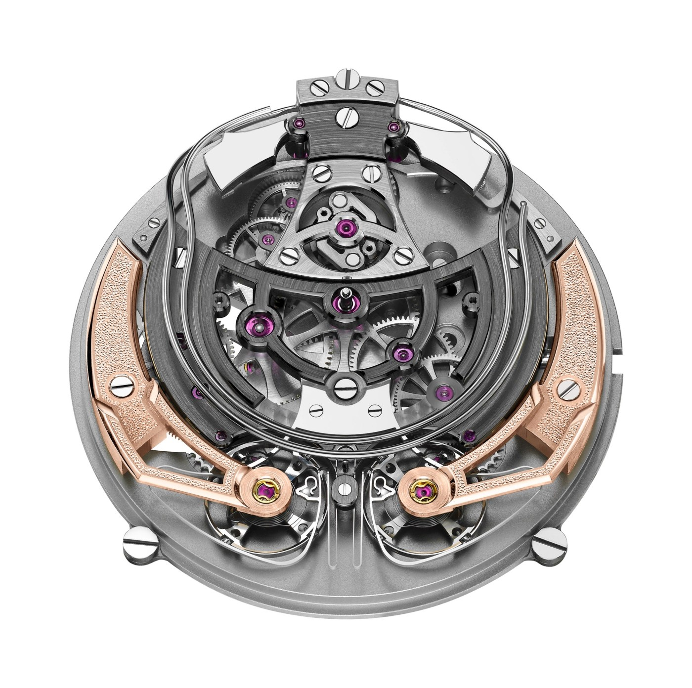 Armin Strom Minute Repeater Resonance caliber ARR18 movement side