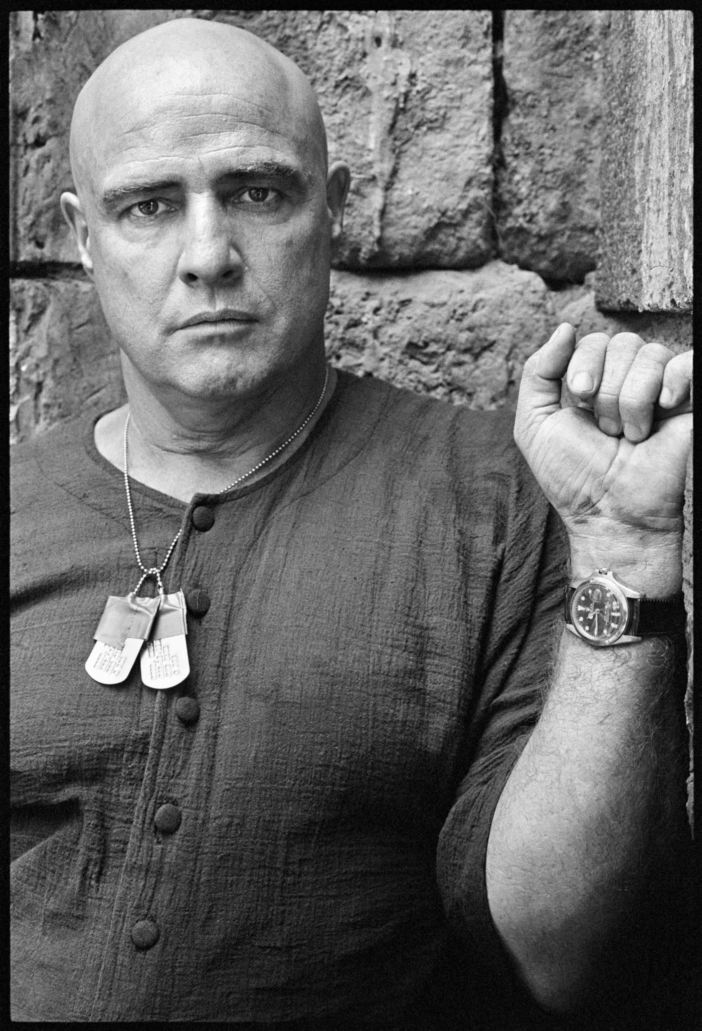 Marlon Brando on the Set of Apocalypse Now Rolex