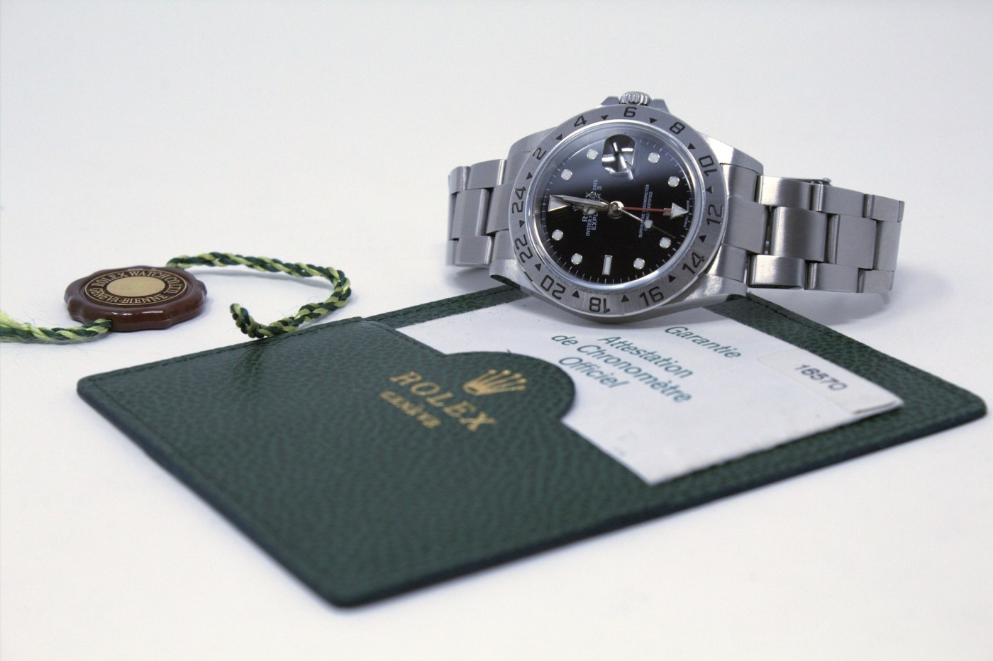 Rolex Explorer II at Chronoexpert
