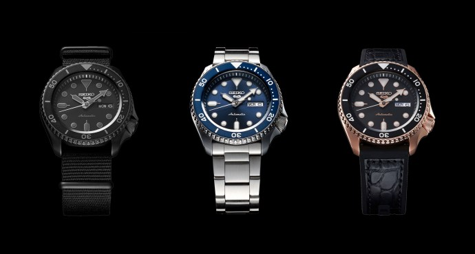 Seiko 5 Sport collection 2019 cover