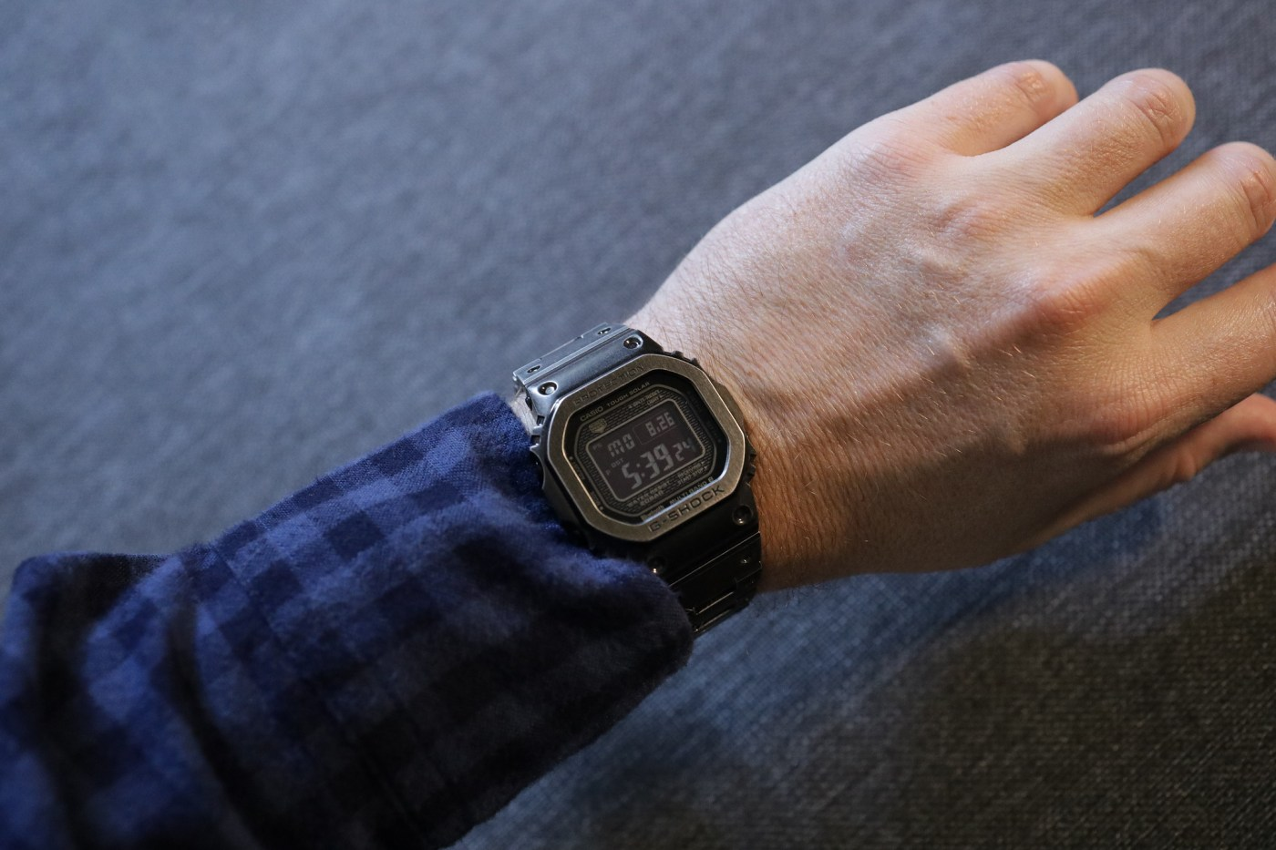 Casio G-Shock Full Metal 5000 Black Aged IP