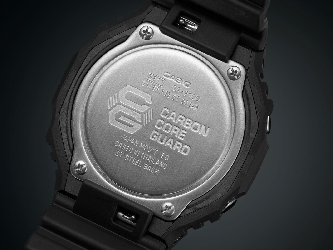 G-Shock GA-2100 Carbon Core Guard