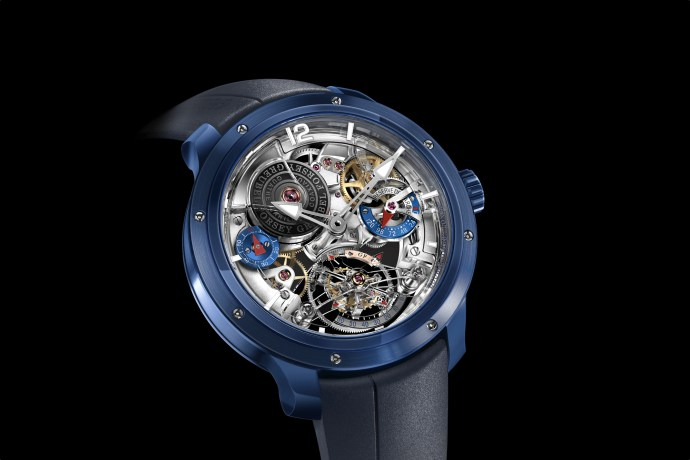 Double Tourbillon 30 Degree Technique Ceramic