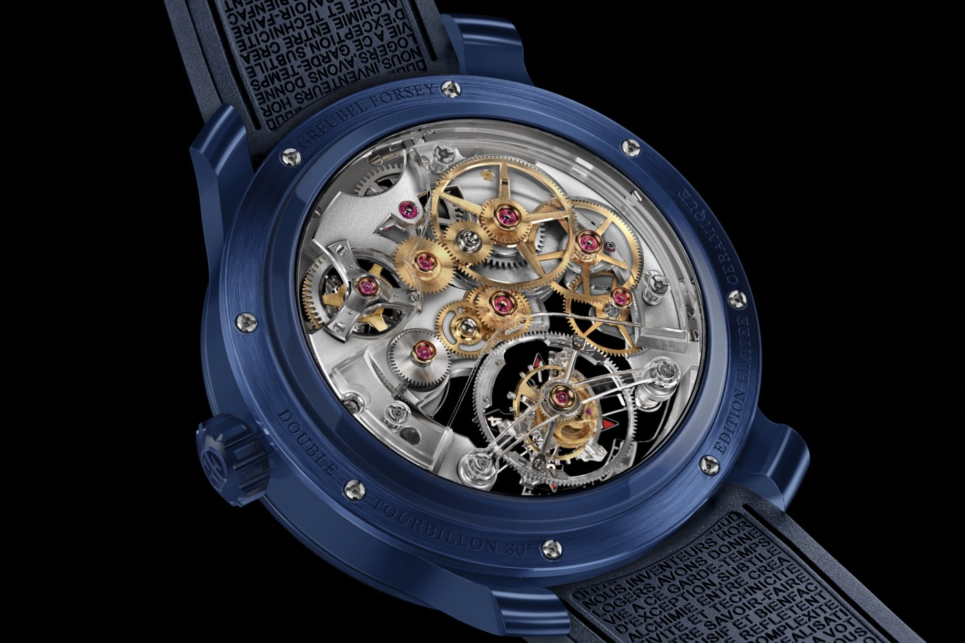 Greubel Forsey Double Tourbillon 30° Technique Ceramic