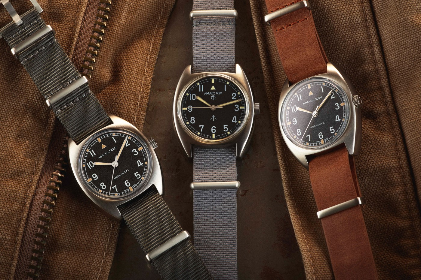 2019 Hamilton Khaki Pilot Pioneer collection
