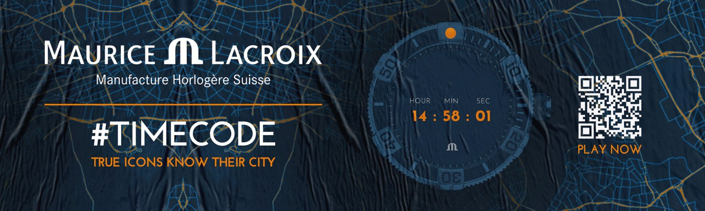 Maurice Lacroix Timecode NYC scan