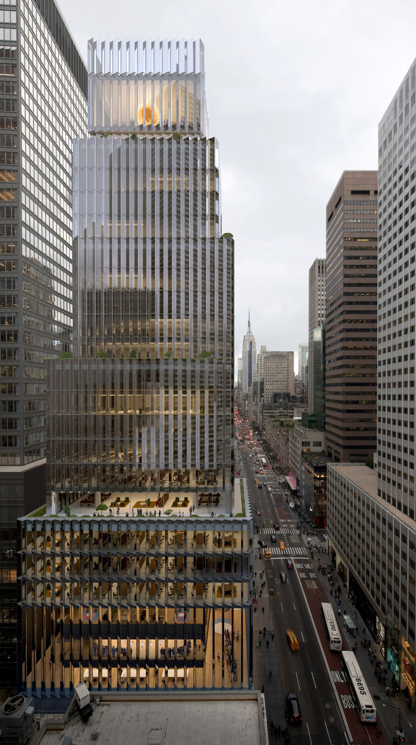 Rolex US Headquarters Rendering by David Chipperfield