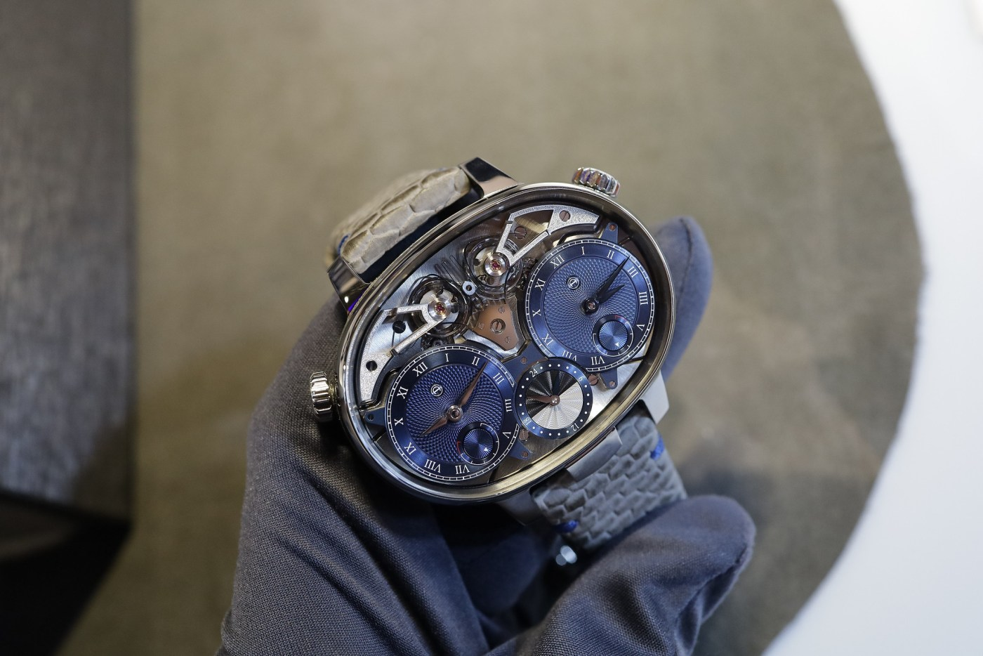 Armin Strom Masterpiece Dual Time Resonance at WatchTime 2019