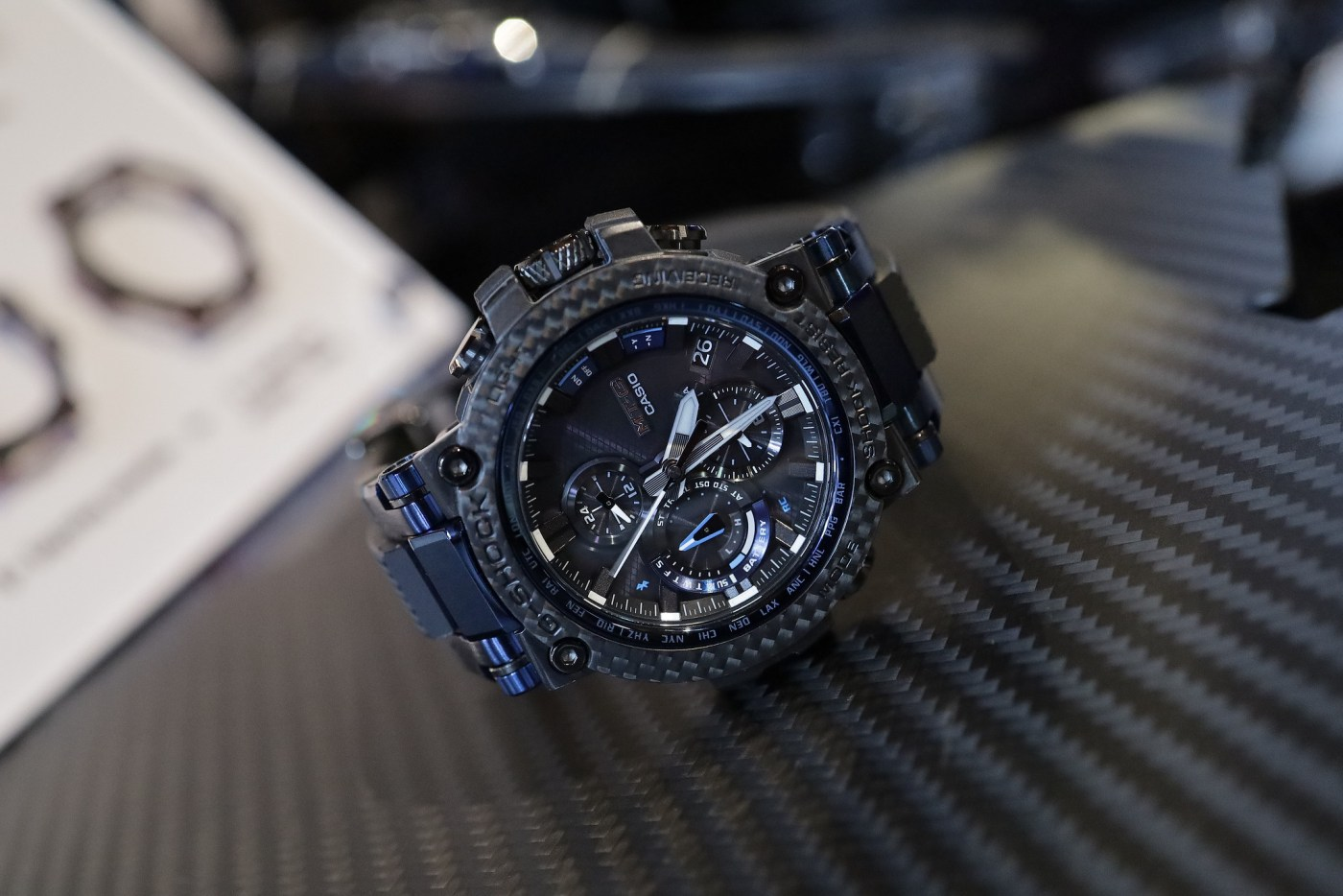 G-Shock MTGB1000XB-1A MT-G Carbon Fiber Bezel