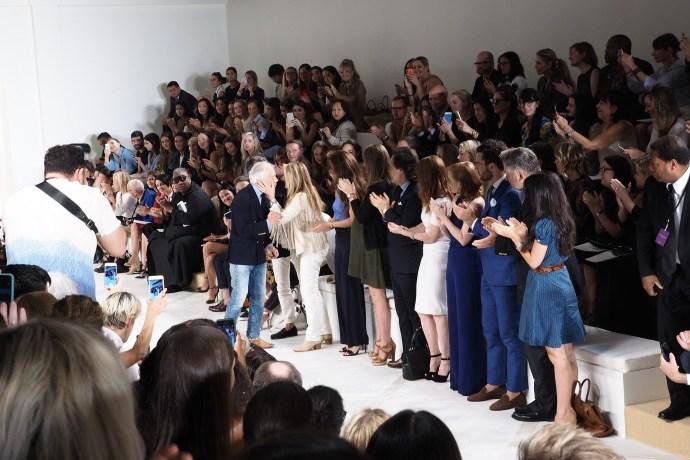 Ralph Lauren fashion show NYC