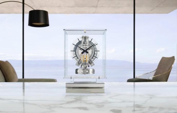 Jaeger-LeCoultre Atmos Transparente