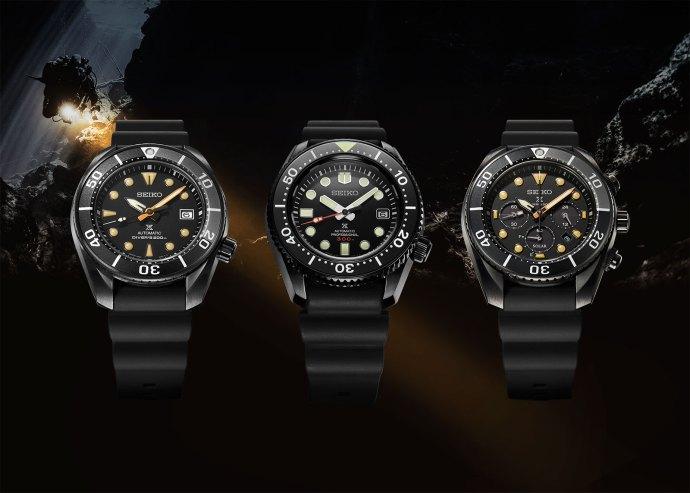2020 Seiko Prospex Black Series SLA035 SPB125 SSC761
