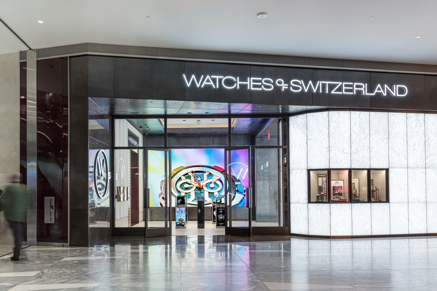 Watches of Switzerland Hudson Yards by Liam Odonnell