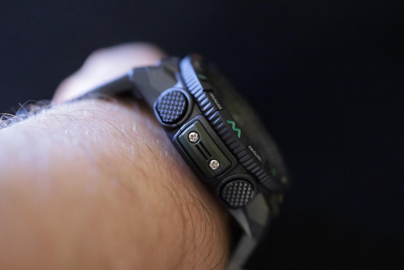 Casio Pro Trek PRT-B50 wristshot