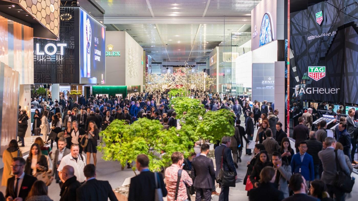 Baselworld Corridors 2017