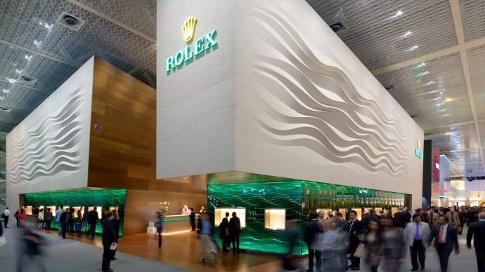 Baselworld Halls Rolex