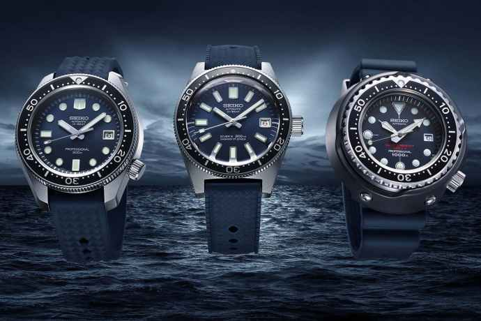 Seiko Remakes Four Classic Dive Watches in 2020