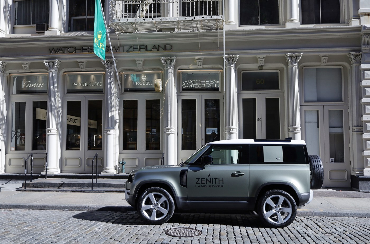 Watches of Switzerland SoHo Land Rover Zenith debut 2020