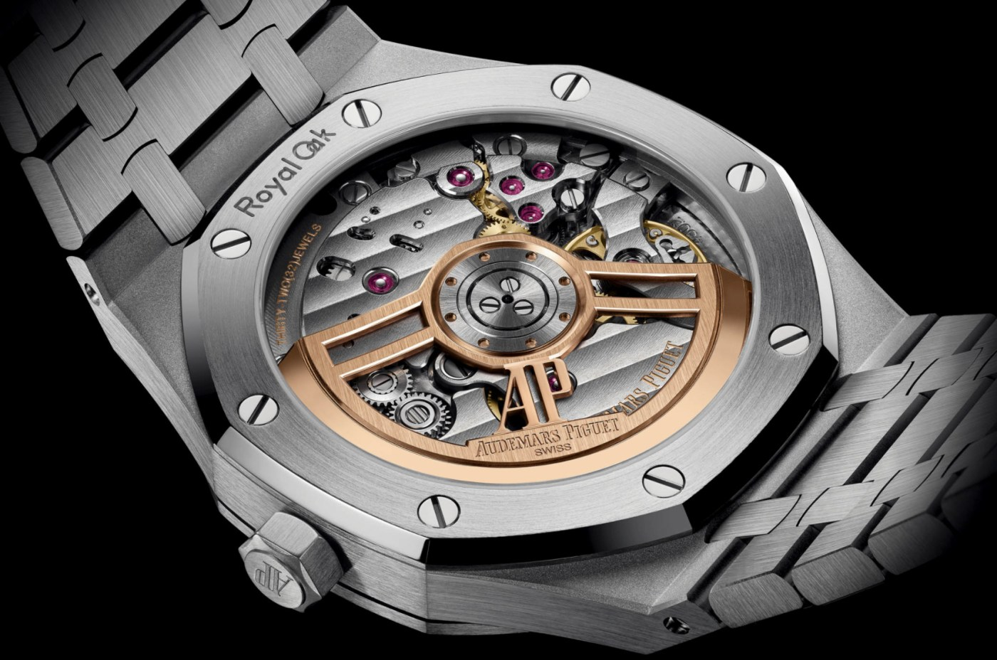 Audemars Piguet Royal Oak 15500 caliber 4302 caseback