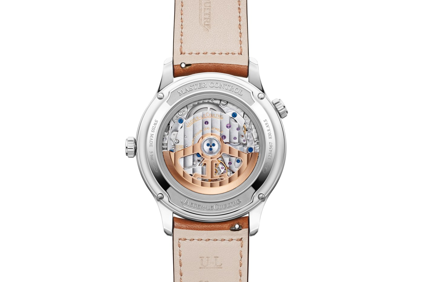 Jaeger-LeCoultre Master Control Geographic caseback 2020