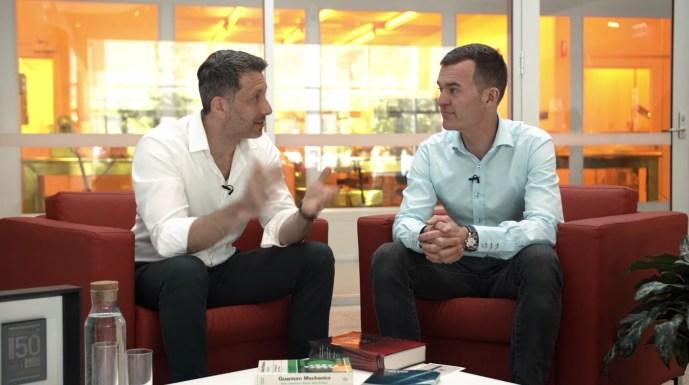 Michael Biercuk and Claude Greisler of Armin Strom