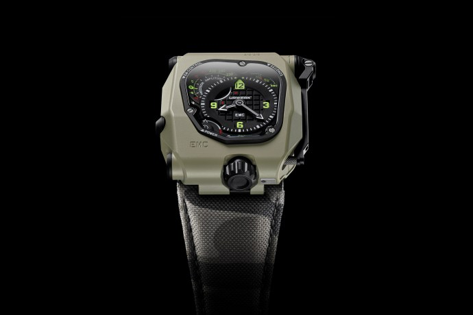 2020 Urwerk EMC Time Hunter Desert Sage