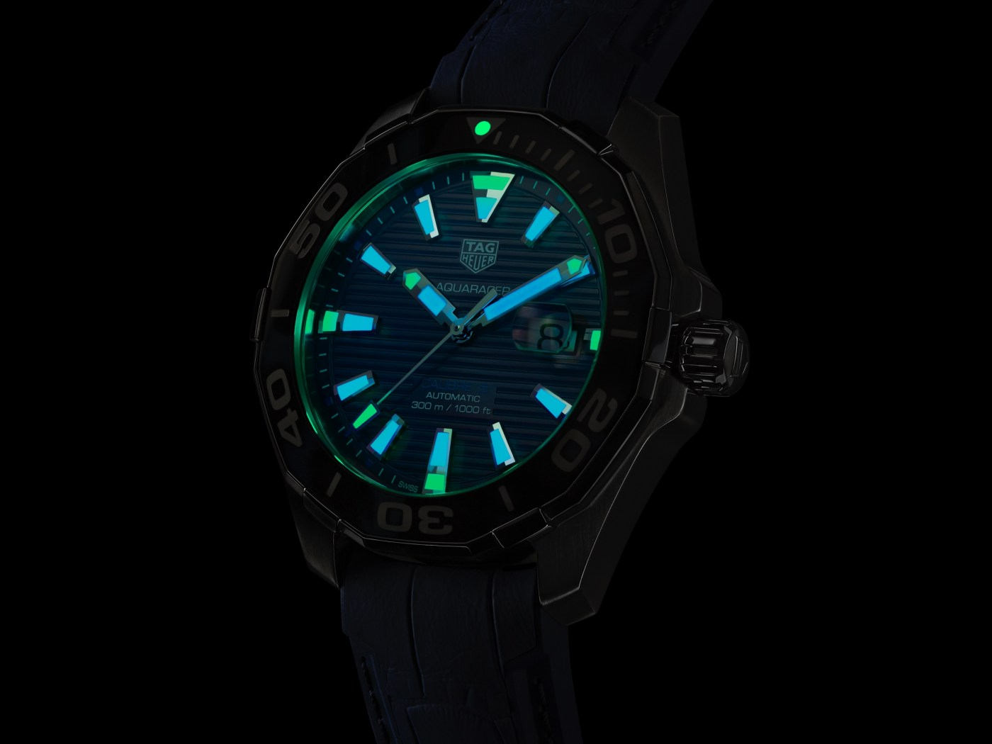 Tortoise Shell Effect Aquaracer Automatic lumeshot