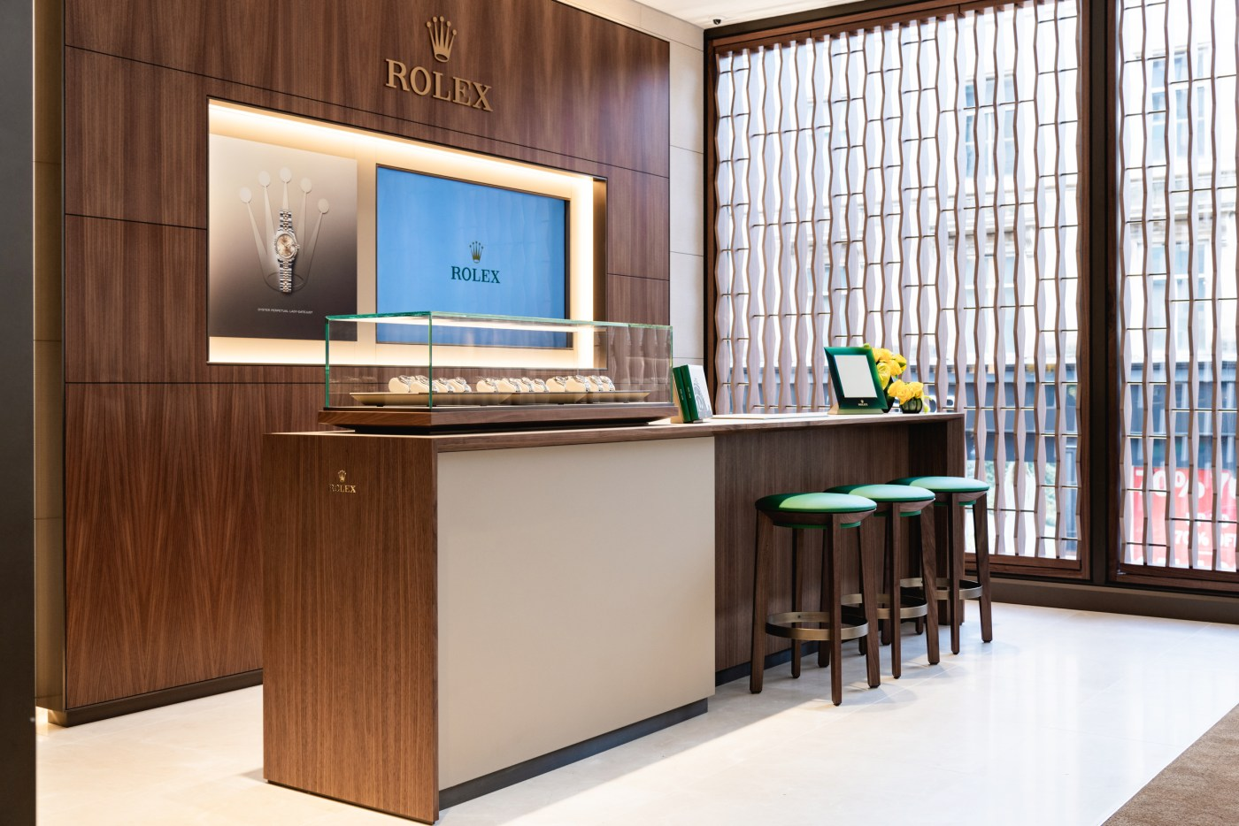 WOS Rolex Boutique Glasgow