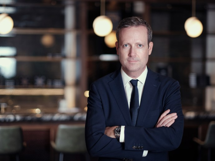 David Hurley of Watches of Switzerland portrait