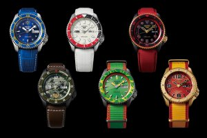 Seiko 5 Sports Street Fighter Limited Editions