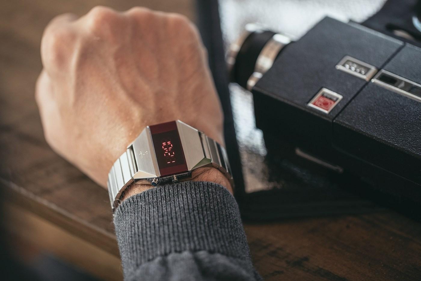 2020 Yema LED Reissue wristshot