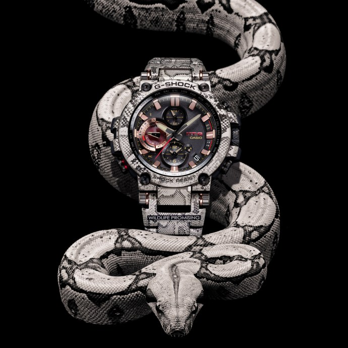 G-Shock x Wildlife Promising Rock Python MTGB1000WLP1
