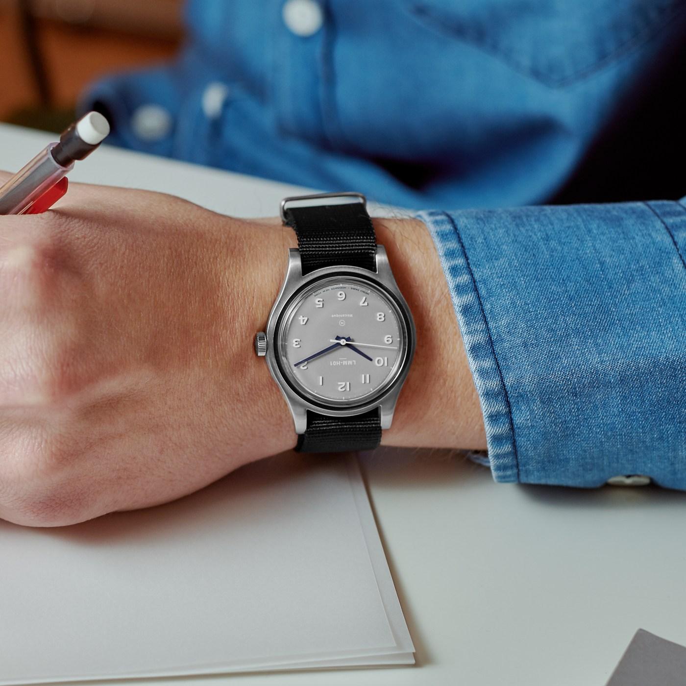 Merci LMM-H01 Hodinkee Limited Edition wristshot