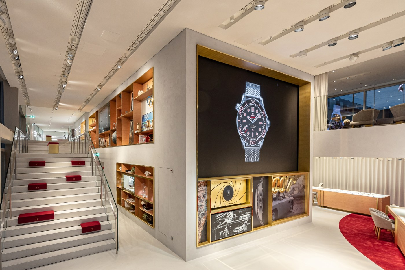 Omega boutique at The Circle Zurich Airport