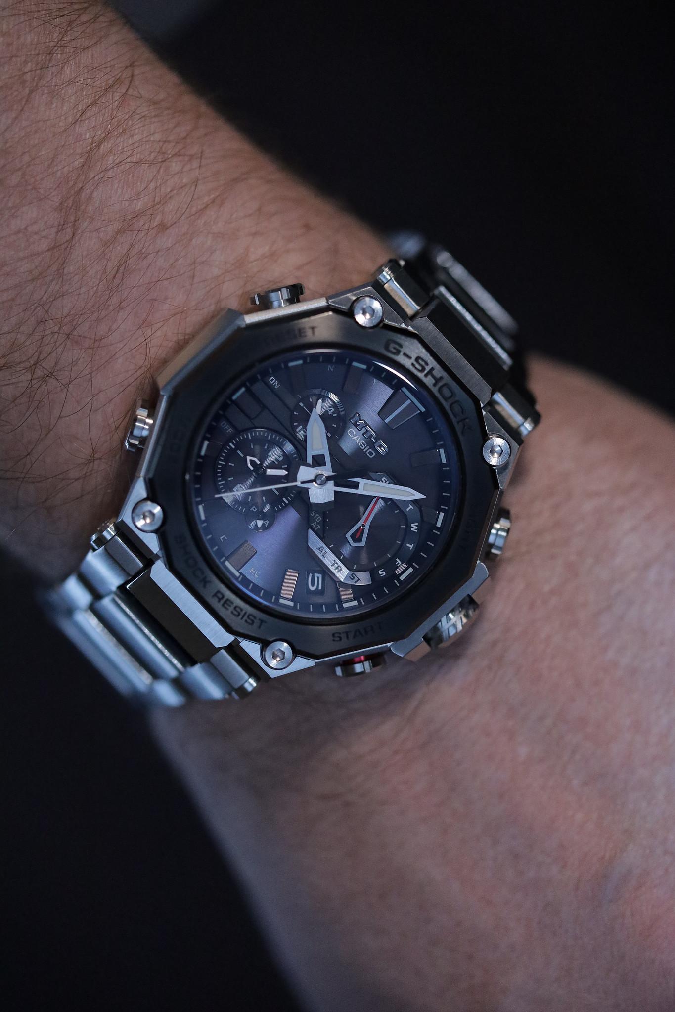 G-Shock MT-G MTGB2000D-1A wristshot