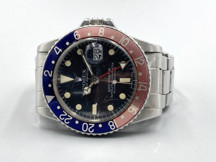 Rolex GMT-Master 1675 with caliber 1575 GMT circa 1966