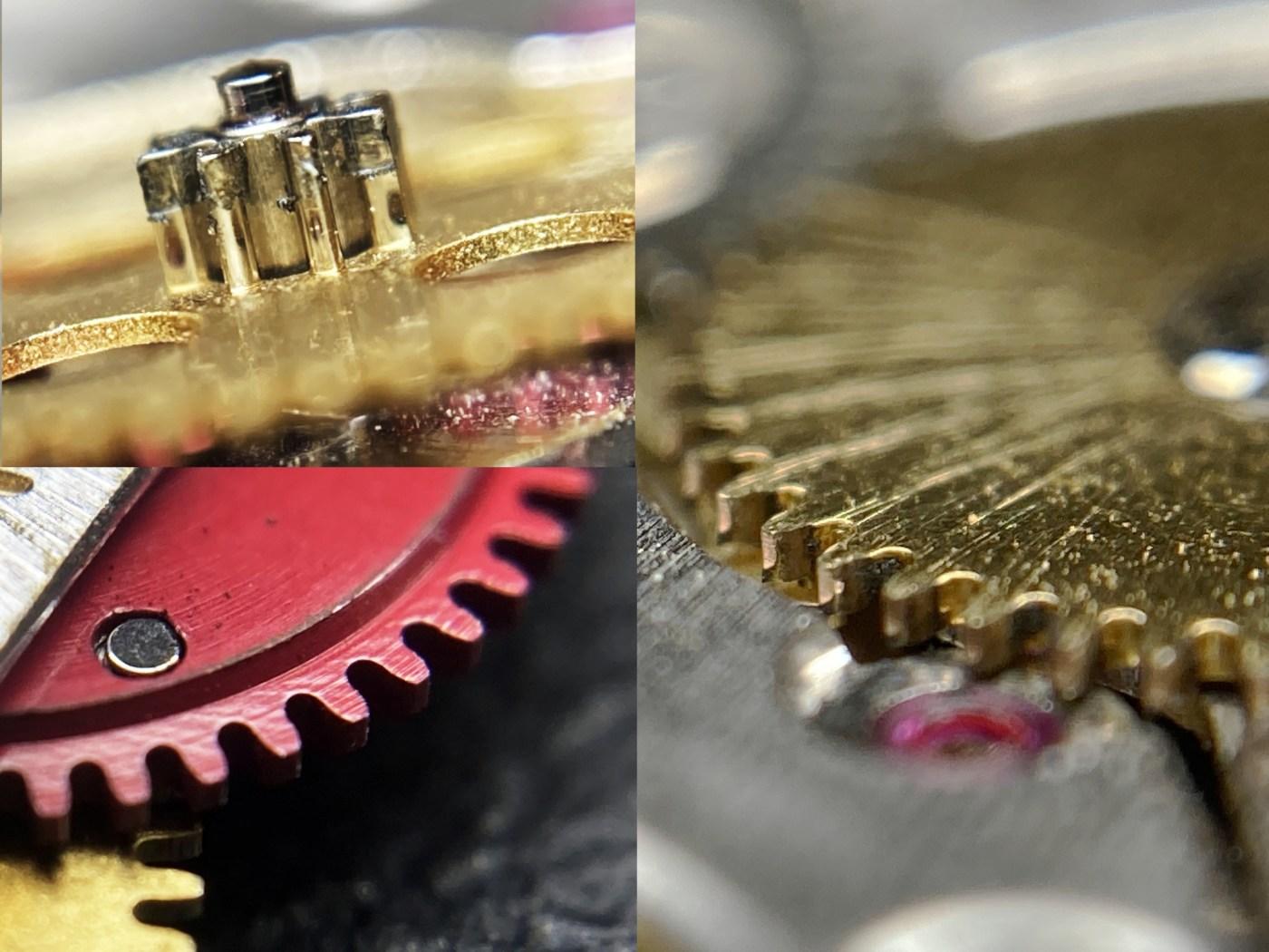Worn vintage Rolex parts
