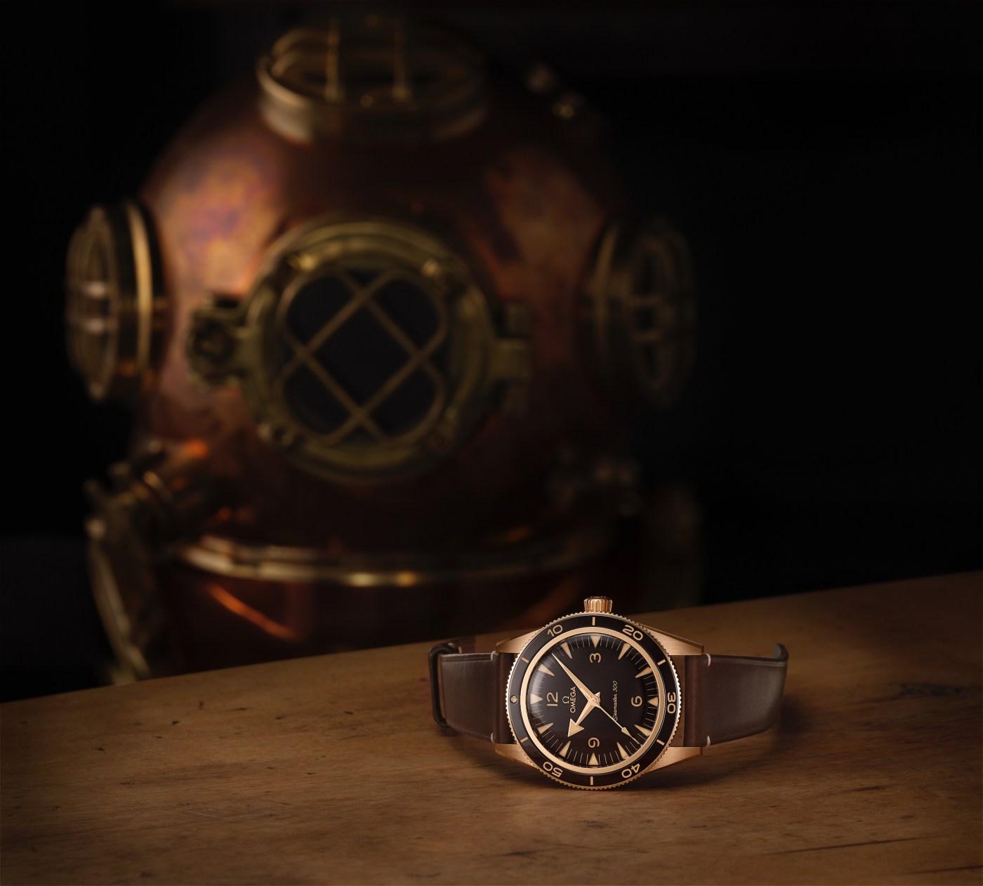2021 Omega Seamaster 300 bronze gold 234.92.41.21.10.001